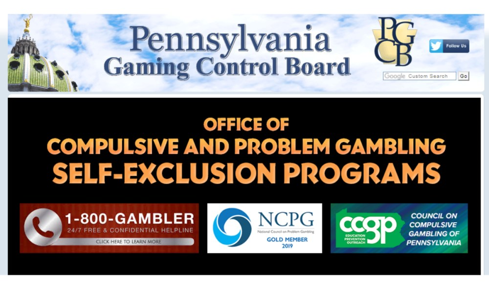 Self exclusion programs gambling why are casinos on water in mississippi