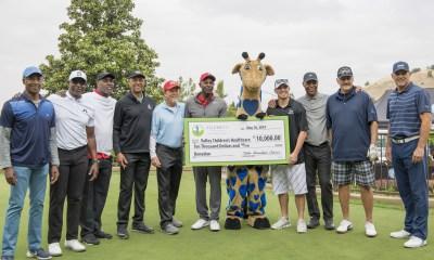 2019 Table Mountain Casino Celebrity Invitational Donates $10,000 To Valley Children's Healthcare