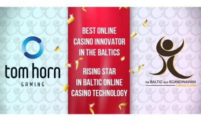 Tom Horn Takes Home Two Trophies At Baltic & Scandinavian Gaming Awards