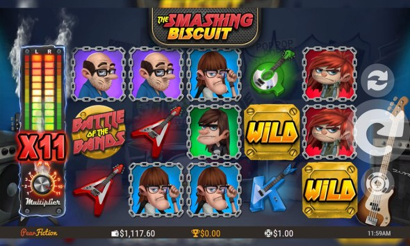 The Smashing Biscuit Joins Microgaming