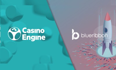 CasinoEngine partners with BlueRibbon for jackpot-based promotions