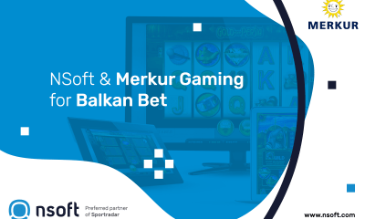 NSoft has integrated Merkur Gaming's casino games onto Balkan Bet's web
