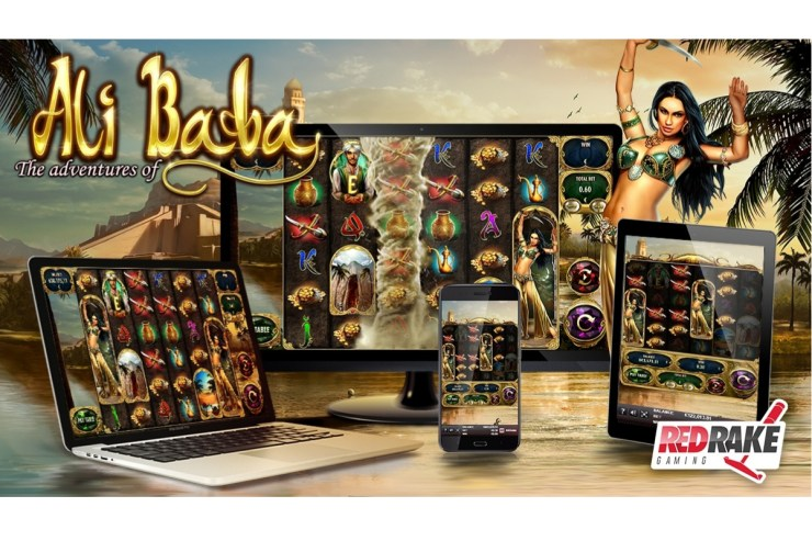 """Tornado of wins and an infinite free spins feature in """"The Adventures of Ali Baba"""", the new video slot from Red Rake Gaming"""
