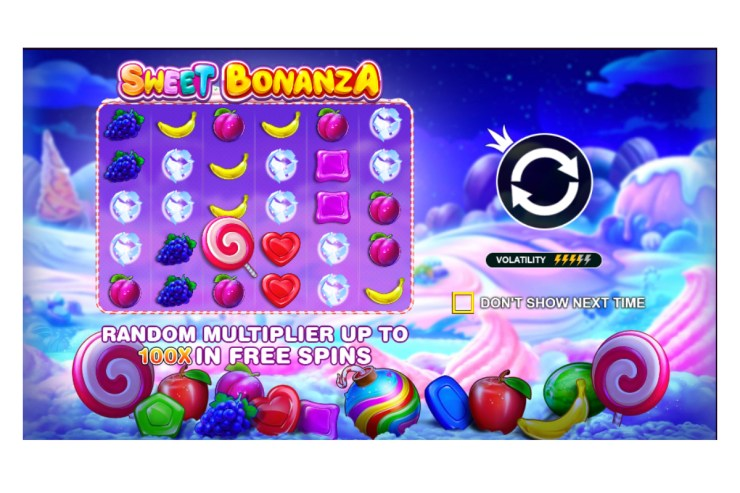 Pragmatic Play - Sweet Bonanza