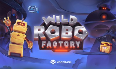 Yggdrasil assembles high-voltage slot Wild Robo Factory