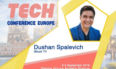 Dushan Spalevich at TECH Conference Europe 2019 Prague