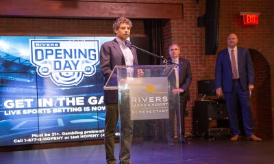 Rivers Casino & Resort Schenectady Makes History with Opening of New Sportsbook Lounge