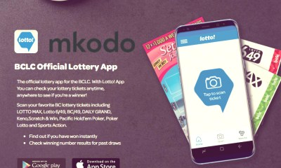 mkodo goes live with app enhancement for British Columbia Lottery Corporation