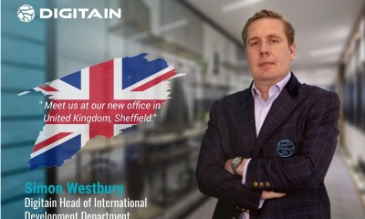 Digitain opens new regional offices in the UK