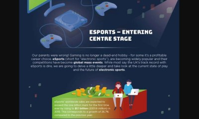 Infographic: eSports – Bringing the game to a new level