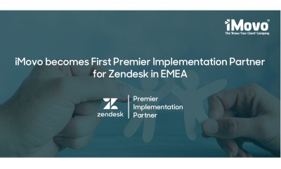 iMovo becomes First Premier Implementation Partner for Zendesk in EMEA