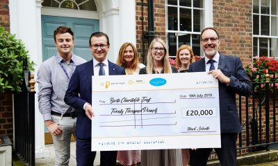 Merkur celebrate fantastic support for bacta Charitable Trust with a smile