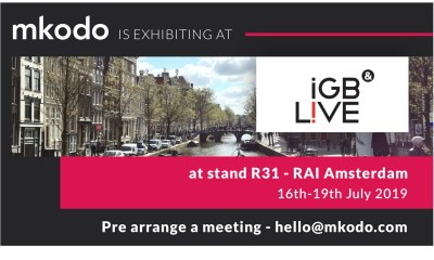 Digital user expert mkodo debuts at iGB Live in Amsterdam