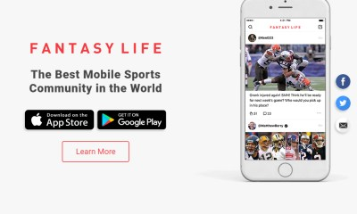 What Do Four MLB All-Stars, An NBA Team Owner, And A NASCAR Champion Have In Common? Fantasy Sports And The Fantasy Life App