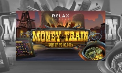 All aboard the Money Train with Relax Gaming's new slot