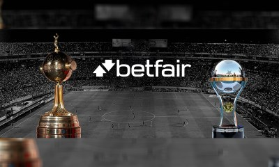 Betfair Becomes Official Partner of CONMEBOL Club Competitions