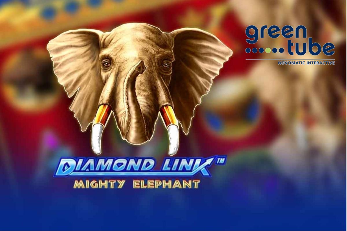 Shining gems in the savannah: Diamond Link™ Mighty Elephant