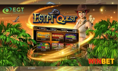 EGT Interactive launches its exciting bonus game Egypt Quest on the Bulgarian market