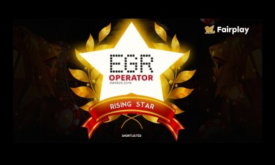 Fairplay Blockchain Casino Shortlisted for EGR Operator Awards 2019