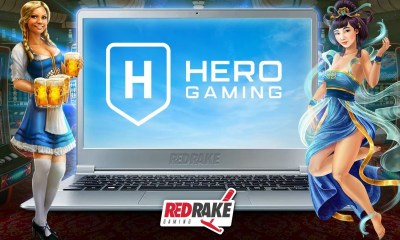 Hero Gaming launches games from Red Rake Gaming