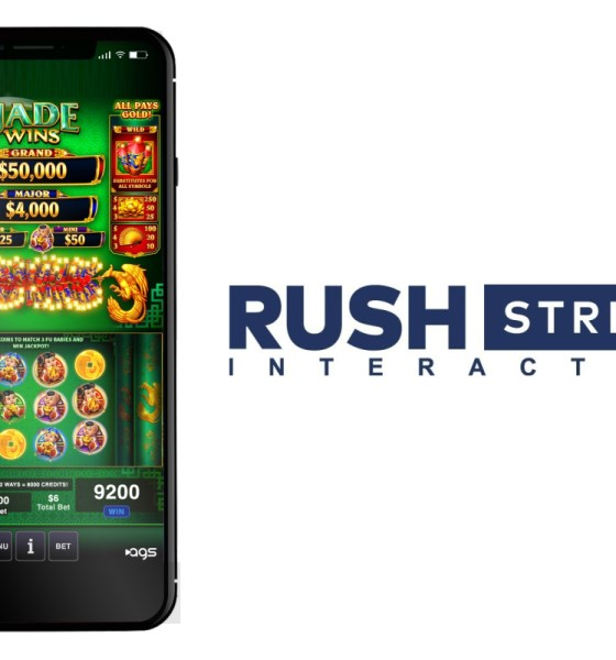 Rush Street Interactive Is First To Launch AGS' Real-Money And Social Game Content In United States, Colombia