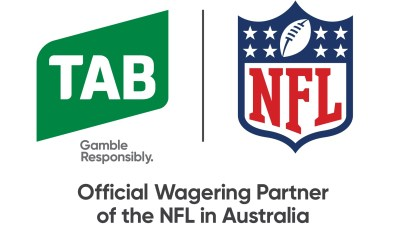 Tabcorp and the NFL partner to bring NFL action and experiences to Australian fans