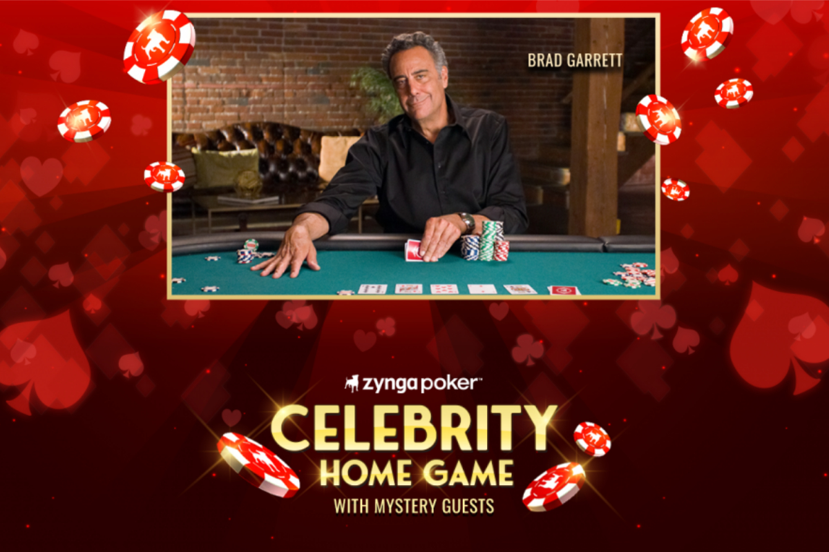 "Zynga Poker Partners with Brad Garrett for ""Celebrity Home Game"""