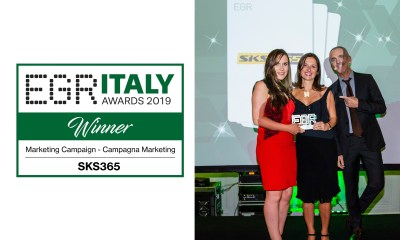 EGR ITALY AWARDS 2019: to SKS365 the prize for the best marketing campaign of the year