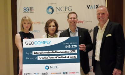 GeoComply, Industry Partners and Guests Donate Over $45K to the National Council on Problem Gambling at G2E Fundraising Event