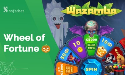 Halloween is here with Soft2Bet's spooky Wheel of Fortune