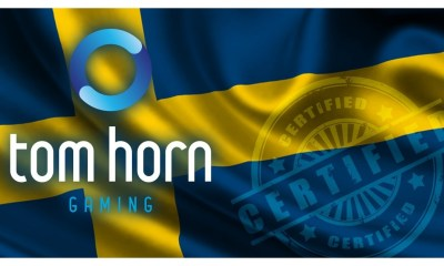 Tom Horn Gaming secures approval to supply its content in Sweden
