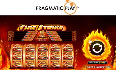 Pragmatic Play - Fire Strike
