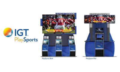 IGT PlaySports Bank and PlaySports Pod Make World Debut at G2E 2019