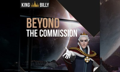 "What does ""beyond the commission"" mean for King Billy? A short list (at least) at the EGR Awards!"