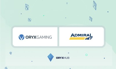 ORYX Gaming signs deal with Admiral Bet