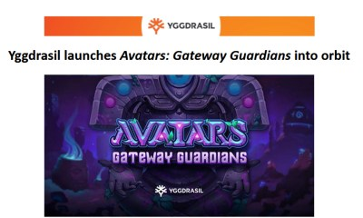 Yggdrasil launches Avatars: Gateway Guardians into orbit