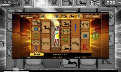 Jackpot King welcomes Blueprint's all-seeing Eye of Horus Megaways™