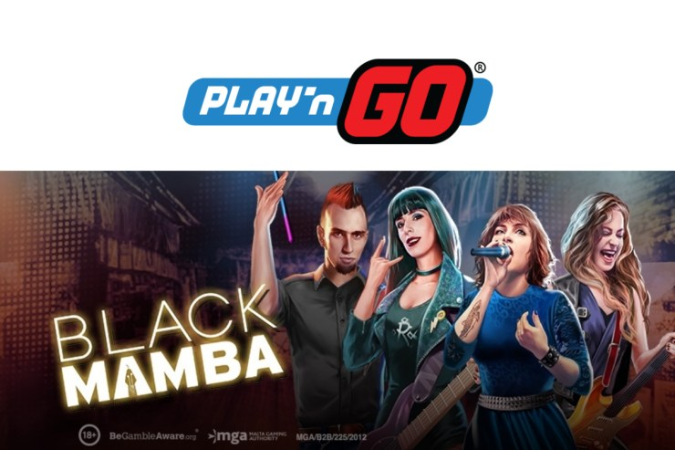 Play'n GO Hit All the Right Notes With Black Mamba