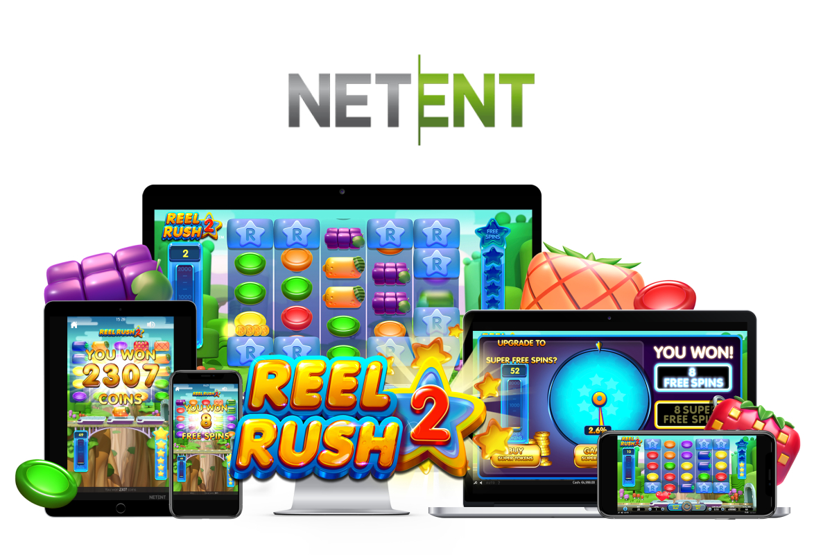 NetEnt creates adrenaline-fueled frenzy of slot excitement with Reel Rush 2