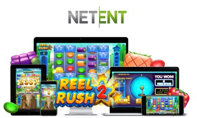 NetEnt with Reel Rush 2