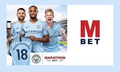Marathonbet Becomes Training Kit Partner of Manchester City