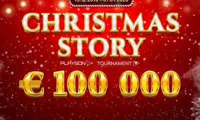 Christmas comes early with Playson's massive €100k cash giveaway
