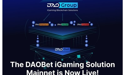 The DAOBet iGaming Solution Mainnet is Now Live