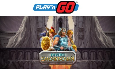 Play'n GO released their latest slot title into the market today, a 5-reel slot entitled Divine Showdown