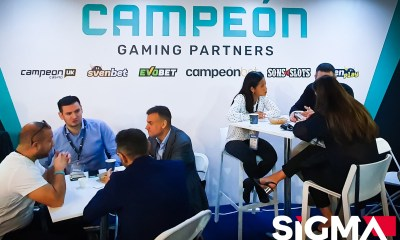Campeón Gaming Partners at SiGMA'19 & the SBC Awards 2019