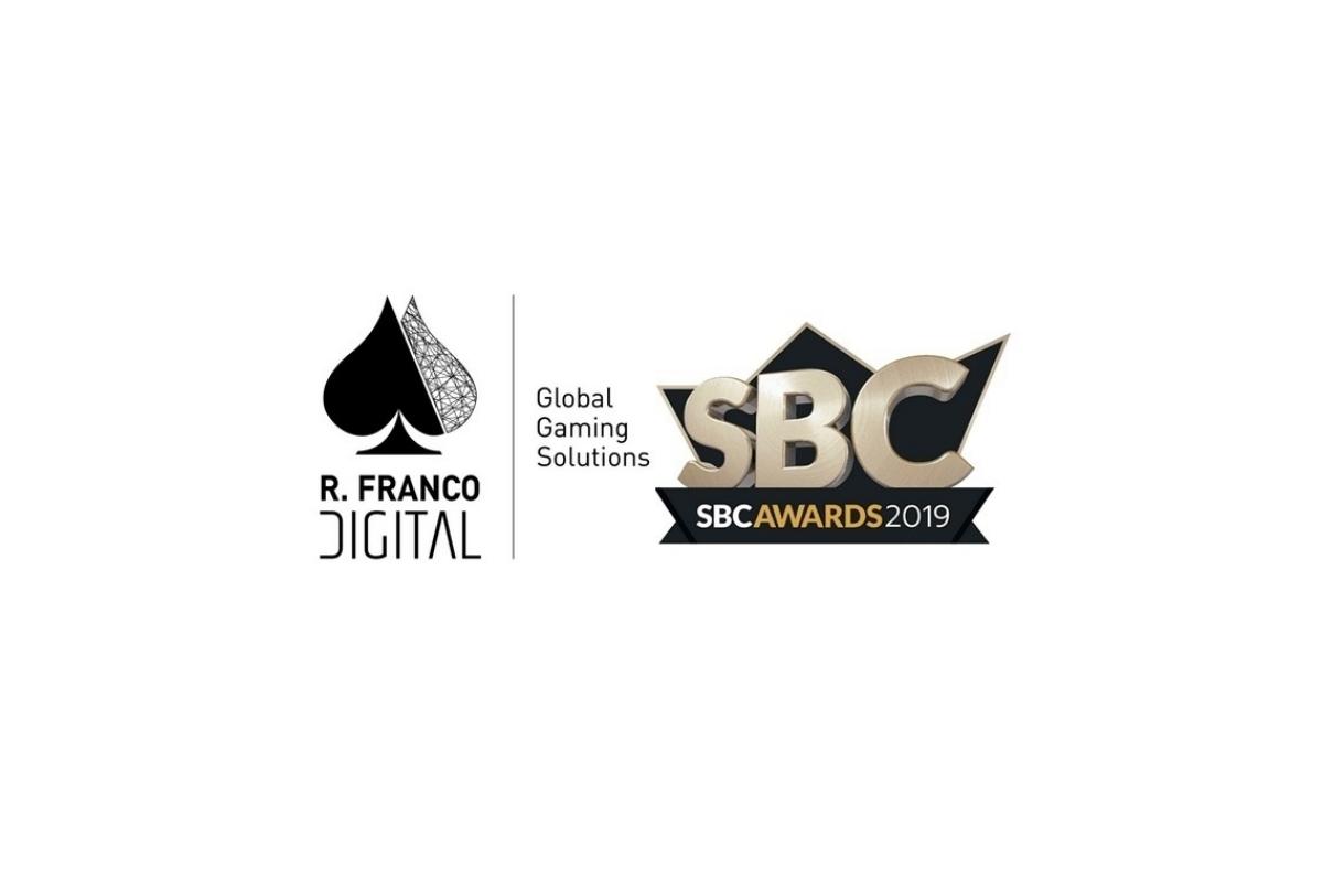 R. Franco Digital ready to rock London's SBC Awards