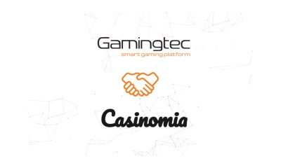 Gamingtec Started a Partnership with Casinomia
