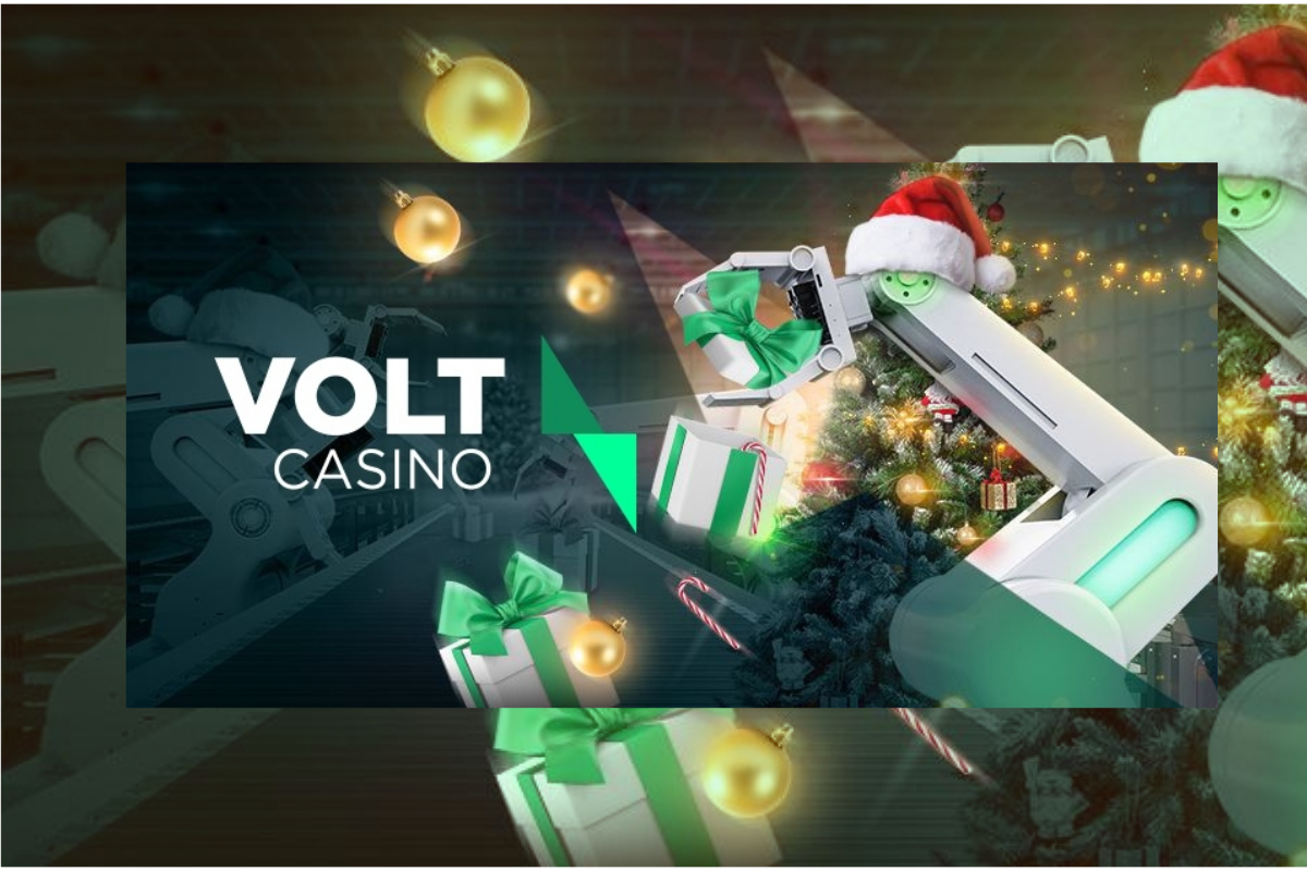 "Volt Casino Launch ""Voltmas Workshop"" Christmas Calendar"