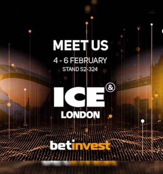 Betinvest to Showcase its New Online Slot Games at ICE London 2020