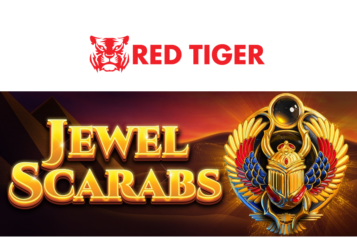Red Tiger Releases Jewel Scarabs for Online Casinos
